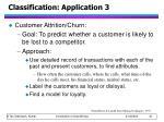 classification application 3