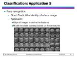 classification application 5