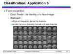classification application 5