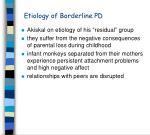 etiology of borderline pd