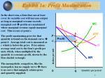 exhibit 1a profit maximization