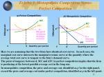 exhibit 3 monopolistic competition versus perfect competition