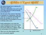 exhibit 5 cartel model