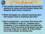 payoff matrix1