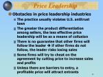 price leadership1