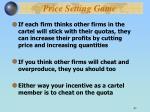 price setting game2