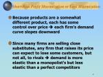 short run profit maximization or loss minimization