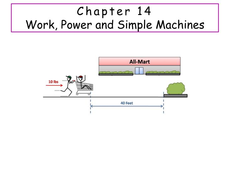 chapter 14 work power and simple machines n.
