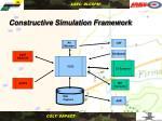 constructive simulation framework