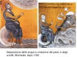 separazione delle acque e creazione dei pesci e degli uccelli monreale dopo 1183