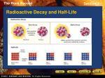 radioactive decay and half life
