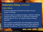 radiometric dating continued6