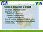 national elevation dataset