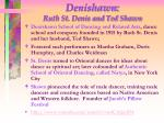 denishawn ruth st denis and ted shawn