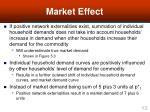 market effect