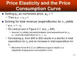 price elasticity and the price consumption curve