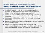 drgania wywo ane wzbudzeniem wirowym most siekierkowski w warszawie