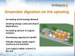 anaerobic digestion on the upswing