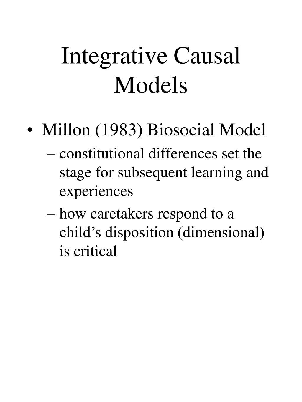 Integrative Causal Models