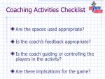 coaching activities checklist1