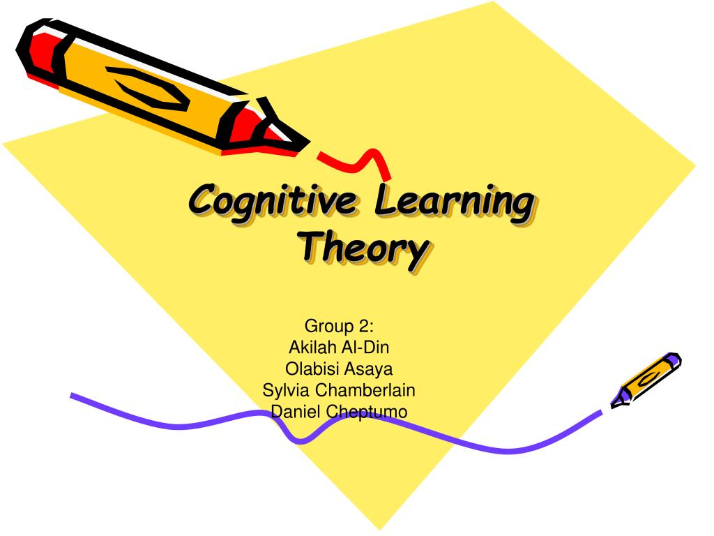 the cognitive learning theory