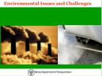 environmental issues and challenges