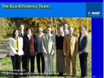 the eco efficiency team