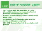 endura fungicide update