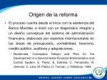 origen de la reforma1