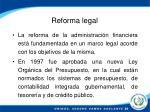reforma legal