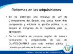 reformas en las adquisiciones1