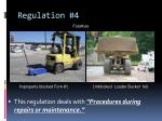 regulation 4