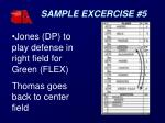 sample excercise 51