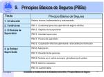 principios b sicos de seguros pbss