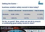 setting the scene business aviation safety record in asia today