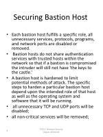 securing bastion host