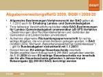 abgabenverwaltungsrefg 2009 bgbl i 2009 20