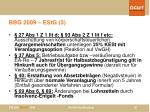 bbg 2009 estg 3