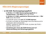 r g 2010 regierungsvorlage