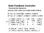 state feedback controller