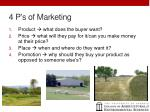 4 p s of marketing