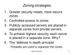 zoning strategies