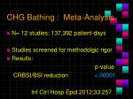 chg bathing meta analysis