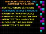 infection control and chg blueprint for success1