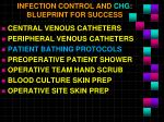 infection control and chg blueprint for success2
