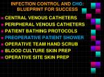 infection control and chg blueprint for success3