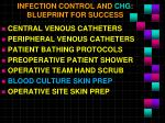 infection control and chg blueprint for success5