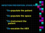 infection prevention four pillars