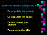 infection prevention four pillars1