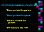 infection prevention four pillars2